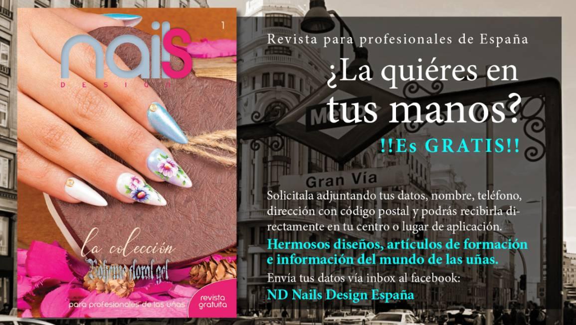 NUEVA REVISTA NAILS DESIGN ESPAÑA EN DREAMS NAILS STUDIO